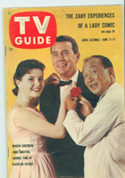 1960 TV Guide Jun 11 Cast of Bachelor Father Oregon State edition Excellent - No Mailing Label  [Lt wear on cover, minor WRT on logo, contents fine]