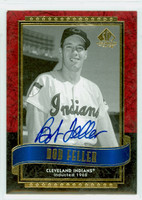 Bob Feller AUTOGRAPH d.10 2003 Upper Deck SP Legendary Indians 