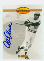 Al Oliver AUTOGRAPH Ted Williams Pirates 
