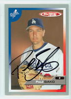 Paul Bako AUTOGRAPH 2005 Topps Total Dodgers 