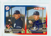T.J. Beam AUTOGRAPH 2005 Topps Total Yankees 