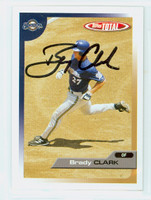 Brady Clark AUTOGRAPH 2005 Topps Total Brewers 
