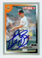 Eric DuBose AUTOGRAPH 2005 Topps Total SILVER Orioles 