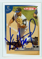 Ken Harvey AUTOGRAPH 2005 Topps Total Royals 