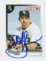Dustin Hermanson AUTOGRAPH 2005 Topps Total White Sox 