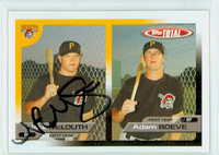 Nate McLouth AUTOGRAPH 2005 Topps Total Pirates 