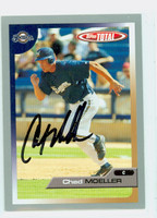 Chad Moeller AUTOGRAPH 2005 Topps Total Brewers 
