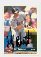 Jeff Reboulet AUTOGRAPH 1993 Donruss Twins 