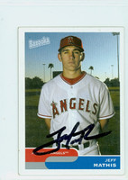 Jeff Mathis AUTOGRAPH Bazooka Angels 
