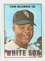 1967 Topps Baseball 29 Tommy McCraw Chicago White Sox Excellent to Excellent Plus
