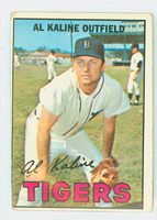 1967 Topps Baseball 30 Al Kaline Detroit Tigers Fair to Good