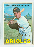 1967 Topps Baseball 60 Luis Aparicio Baltimore Orioles Good to Very Good