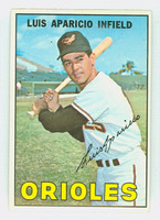 1967 Topps Baseball 60 Luis Aparicio Baltimore Orioles Excellent to Excellent Plus