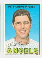 1967 Topps Baseball 34 Pete Cimino California Angels Near-Mint to Mint