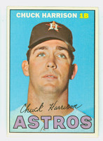 1967 Topps Baseball 8 Chuck Harrison Houston Astros Near-Mint Plus