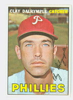 1967 Topps Baseball 53 Clay Dalrymple Philadelphia Phillies Near-Mint Plus