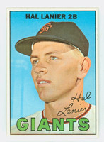 1967 Topps Baseball 4 Hal Lanier San Francisco Giants Near-Mint