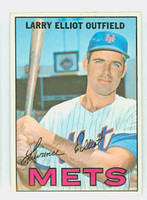 1967 Topps Baseball 23 Larry Elliot New York Mets Near-Mint