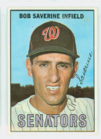 1967 Topps Baseball 27 Bob Saverine Washington Senators Near-Mint