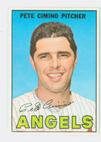 1967 Topps Baseball 34 Pete Cimino California Angels Near-Mint