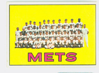 1967 Topps Baseball 42 Mets Team Near-Mint