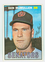 1967 Topps Baseball 47 Ken McMullen Washington Senators Near-Mint