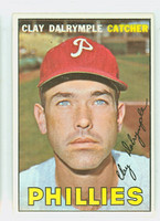 1967 Topps Baseball 53 Clay Dalrymple Philadelphia Phillies Near-Mint