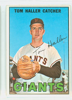 1967 Topps Baseball 65 Tom Haller San Francisco Giants Near-Mint