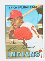 1967 Topps Baseball 43 Chico Salmon Cleveland Indians Excellent to Mint