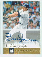 Bobby Murcer AUTOGRAPH d.08 2004 Upper Deck Yankees Classics - Classic Scripts SINGLE PRINT CERTIFIED 