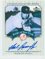 Hal Reniff AUTOGRAPH d.04 2003 Pride of the Yankees  CERTIFIED 
