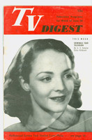 1951 TV Digest June 30 Starlet from Philadelphia (32 pgs) Philadelphia edition Very Good - No Mailing Label  [Wear and creasing on cover; contents fine]