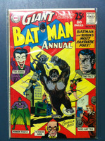 BATMAN #3 ANNUAL The Mad Hatter of Gotham City Jun 62 (80 pgs) Very Good to Fine Lt wear, creasing on cover; contents fine