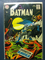 BATMAN #204 Operation Blindfold Aug 68 Very Good Wear and scuffing on cover, wear along binding with sl paper loss; contents fine