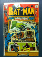 BATMAN #218 Batman and Robin's Greatest Mystery (Giant - 80 pgs) Feb 70 Very Good to Fine Wear on cover, contents fine