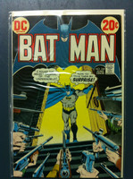 BATMAN #249 The Citadel of Crime Jun 73 Very Good Lt wear on cover, heavy crease on back cover; contents fine