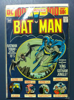 BATMAN #254 King of the Gotham Jungle (Giant - 100 pgs) Feb 74 Very Good to Fine Wear on cover, contents fine