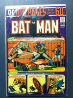 BATMAN #256 Catwoman's Circus Caper (Giant - 100 pgs) Jun 74 Very Good to Fine Wear on cover, contents fine