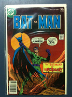 BATMAN #292 The Testimony of the Riddler Oct 77 Fine to Very Fine