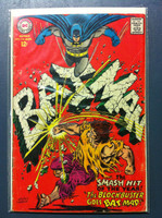BATMAN #194 The Blockbuster Goes Bat-Mad Aug 67 Good Heavy wear, scuffing and creasing on cover, contents fine