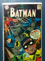 BATMAN #196 The Psychic Super-Sleuth Nov 67 Very Good Wear on cover, ow clean
