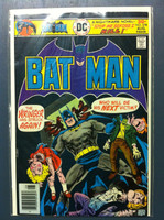 BATMAN #278 The Wringer : Stop Me Before I Kill Batman Aug 76 Very Good to Fine Lt wear on cover, ow clean