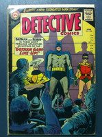 DETECTIVE COMICS ft: BATMAN & ROBIN #328 Gotham Gang Line-Up Jun 64 (Death of Alfred) Very Good Wear on cover, creasing, wear along binding; contents fine