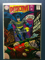 DETECTIVE COMICS ft: BATMAN & ROBIN #374 Hunt for a Robin-Killer Apr 68 Very Good Wear on cover, creasing, wear along binding; contents fine