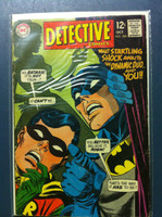 DETECTIVE COMICS ft: BATMAN & ROBIN #380 Marital-Bliss Miss Oct 68 Very Good Wear on cover, creasing, wear along binding; contents fine