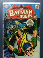 DETECTIVE COMICS ft: BATMAN & ROBIN #381 One Drown - One More to Go Nov 68 Very Good Heavy wear on cover, creasing, wear along binding; contents fine