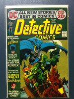 DETECTIVE COMICS ft: BATMAN & ROBIN #425 The Stage is Set … For Murder Jul 72 Fine Lt wear on cover, ow very clean
