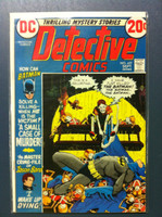 DETECTIVE COMICS ft: BATMAN & ROBIN #427 A Small Case of Murder Sep 72 Fine Lt wear on cover, ow very clean