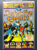 DETECTIVE COMICS ft: BATMAN & ROBIN #443 Giant (100 pg) - Gotterdammerung Nov 74 Very Good to Fine Lt wear, creasing on cover; contents fine