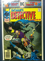 DETECTIVE COMICS ft: BATMAN & ROBIN #460 Captain Stingaree : Slow Down - and Die! Jun 76 Very Good to Fine